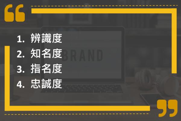 「品牌」形成的4個過程